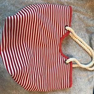 Capelli Straw beach bag